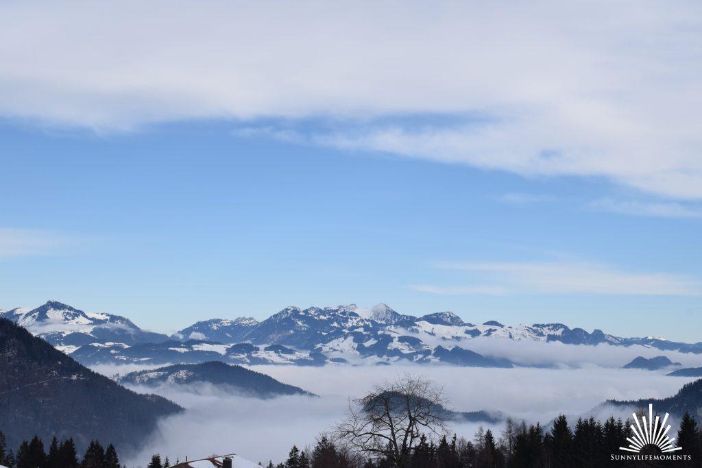 Bergpanorama Ausblick der Kala Alm