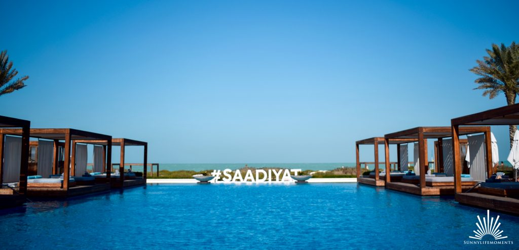 Saadiyat Beachclub in Abu Dhabi