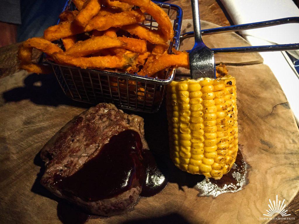 Steak im Restaurant Fischer Ammersee