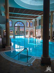 Poolbereich im A-Rosa beheizt