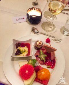 Dessert vom Buffet A-Rosa