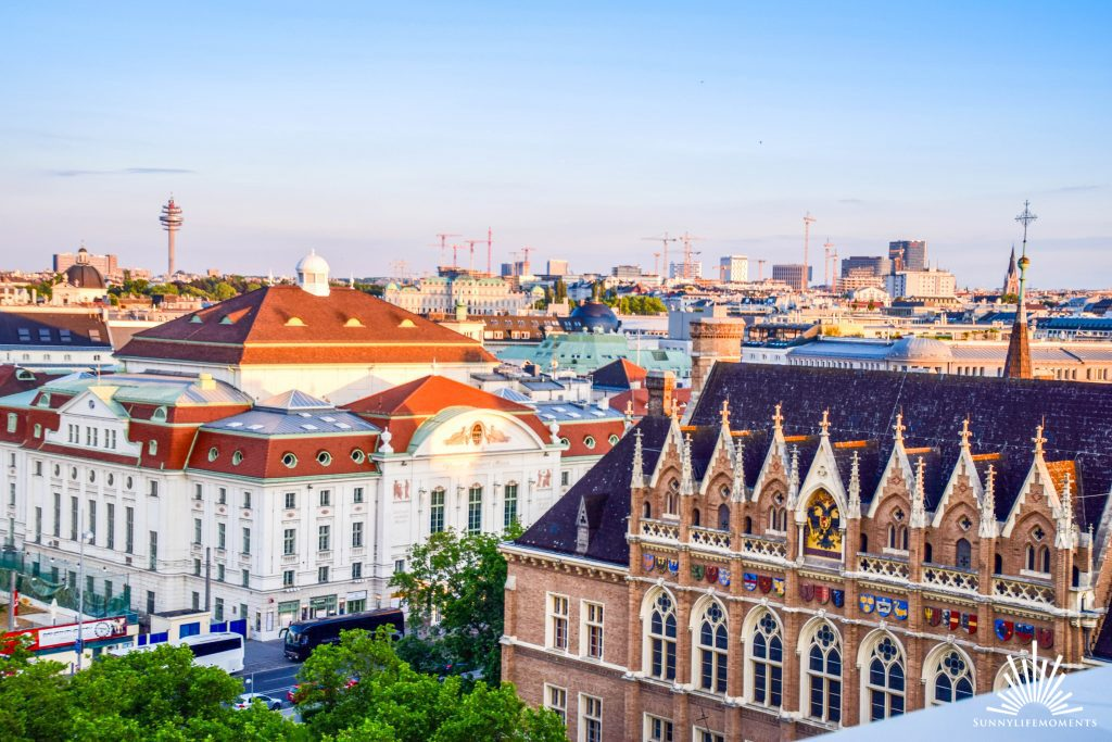 Blick Atmosphere Rooftop Bar Wien