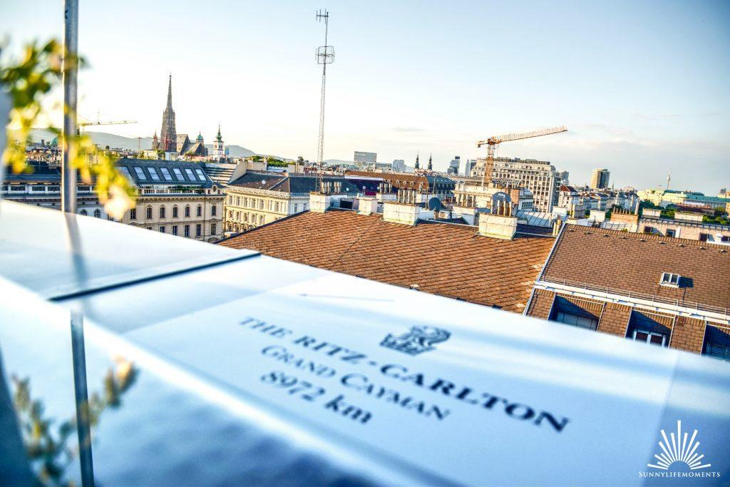 Dachterasse in Wien Ritz-Carlton