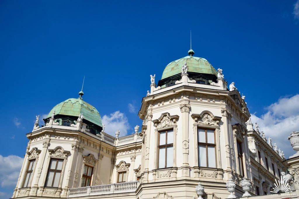 Turm Schloss Belvedere Wien