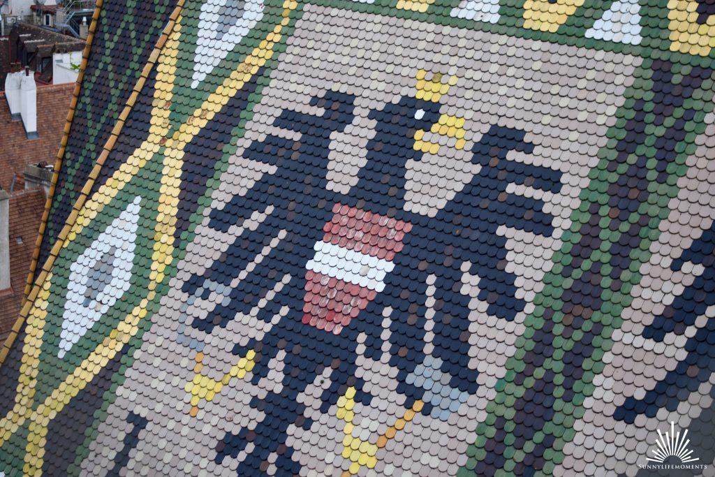 Adler am Dach des Stephansdom