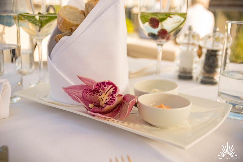 Lunch auf der Dachterasse Bayerischer Hof