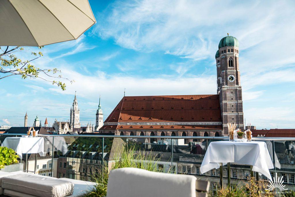 Dachterasse Hotel Bayerischer Hof München
