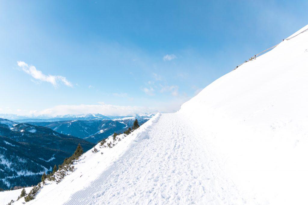 Hangüberquerung in Südtirol