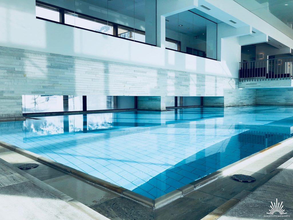 Wellnessauszeit Indoor Pool Österreich