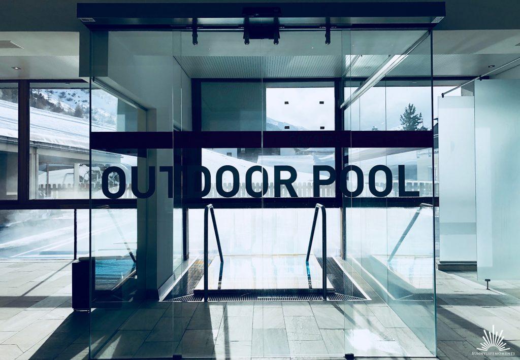 Beheizter Outdoor Pool