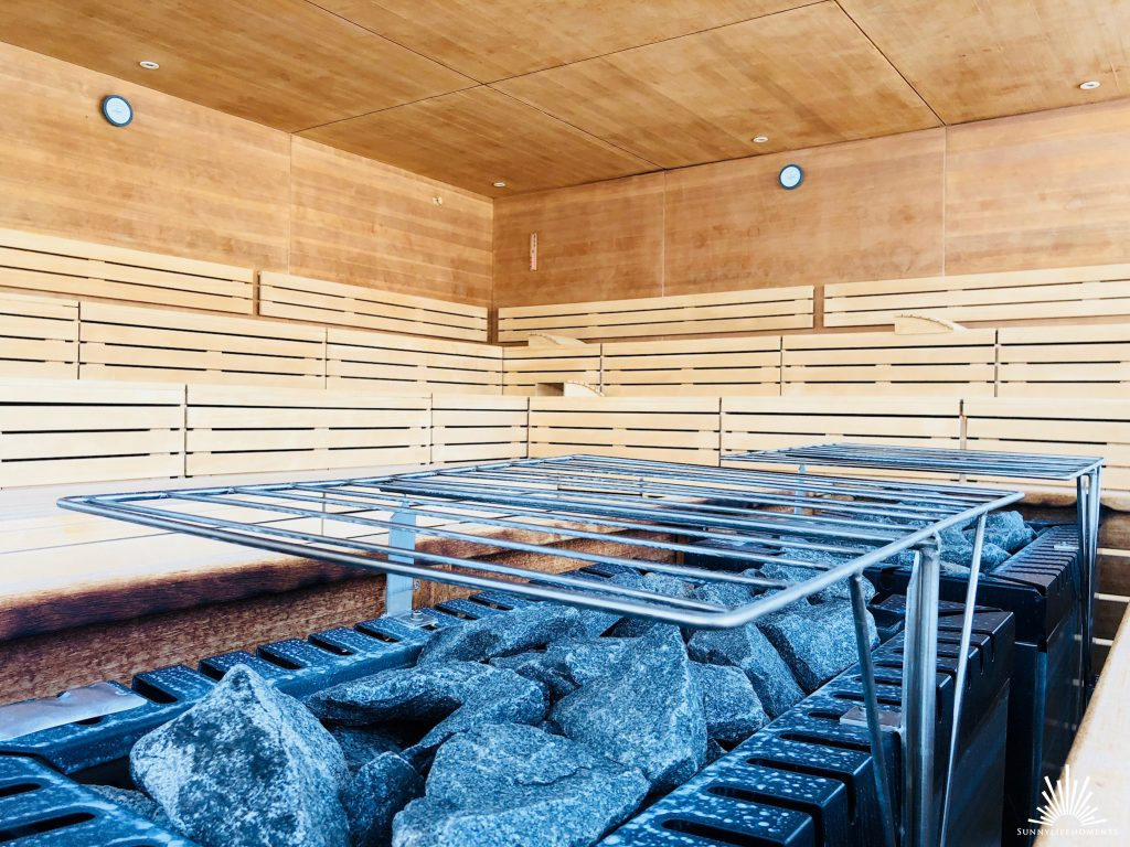 Saunaofen Panorama Sauna