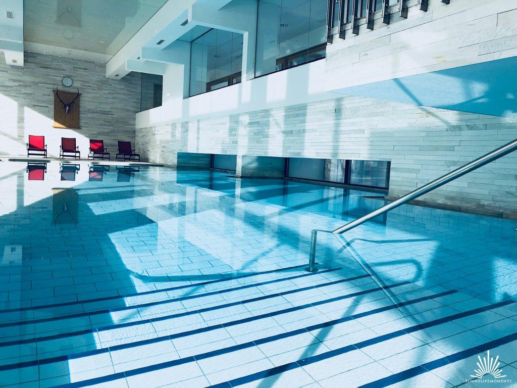 Wellnessauszeit Indoor Pool Obergurgl