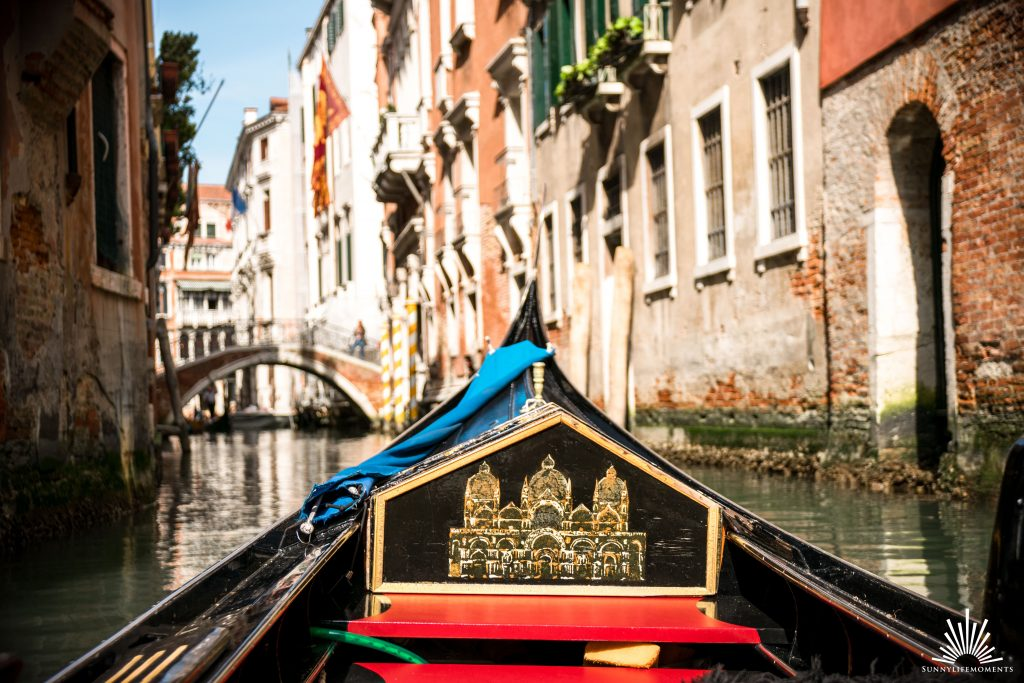 Gondelfahrt Venedig Canal Grande