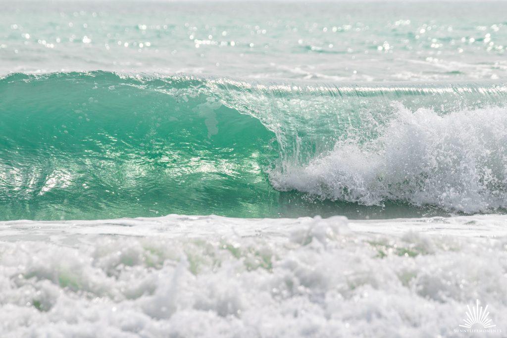 Welle in Bucht von Venedig