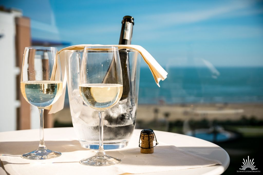 Prosecco am Meer