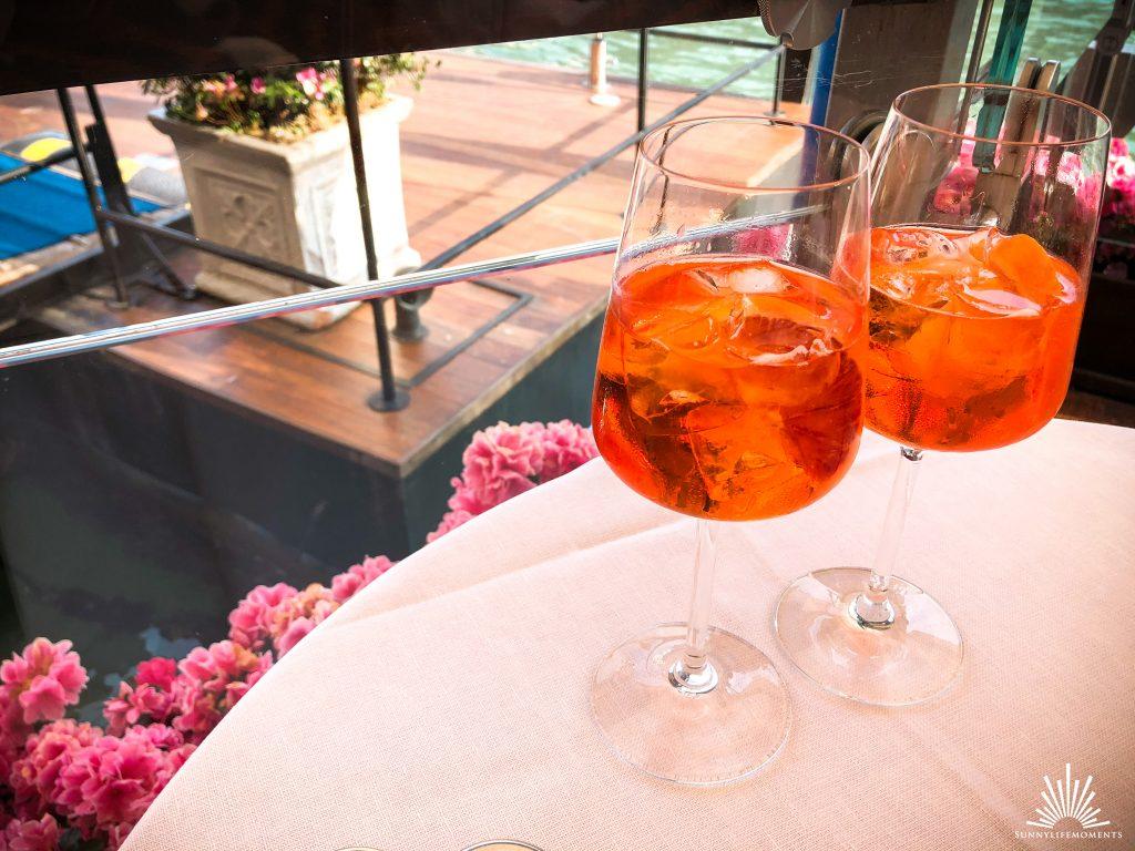 Aperol Spritz Riva Bar Venedig