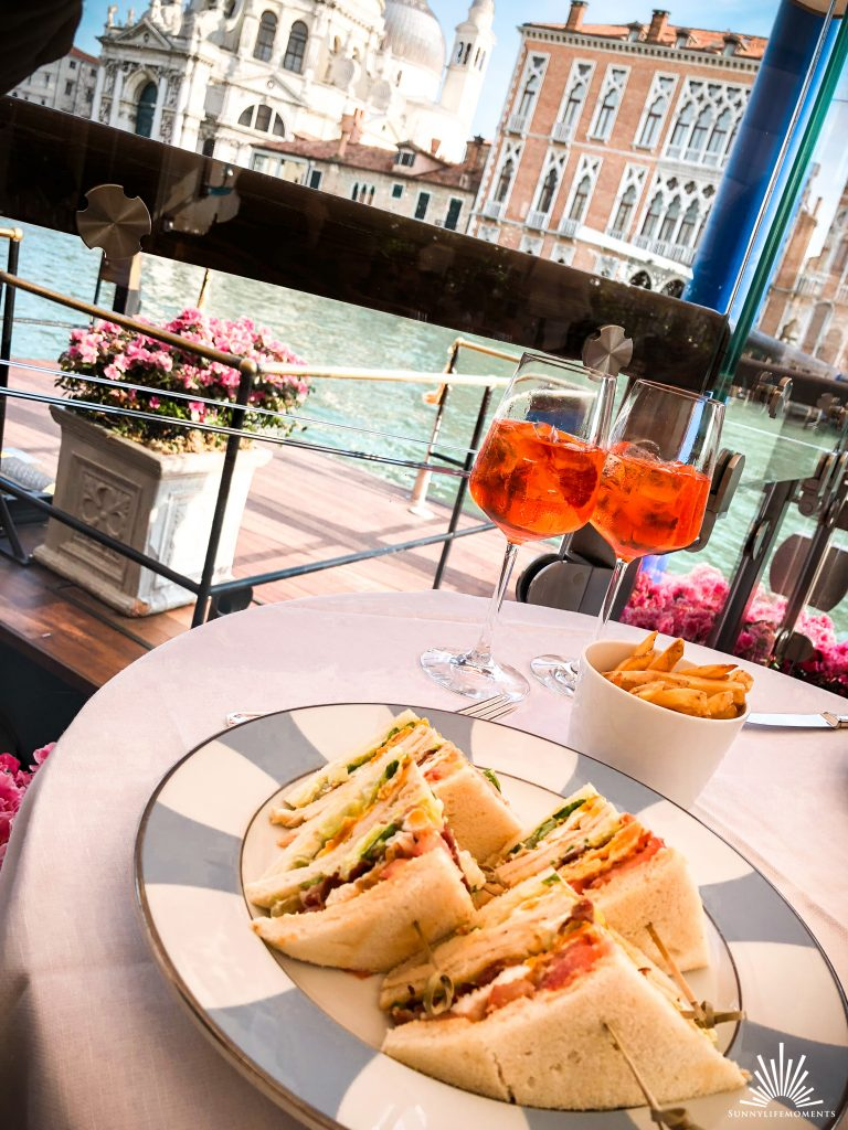 Clubsandwich Riva Lounge Venedig
