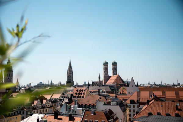 Über den Dächern München