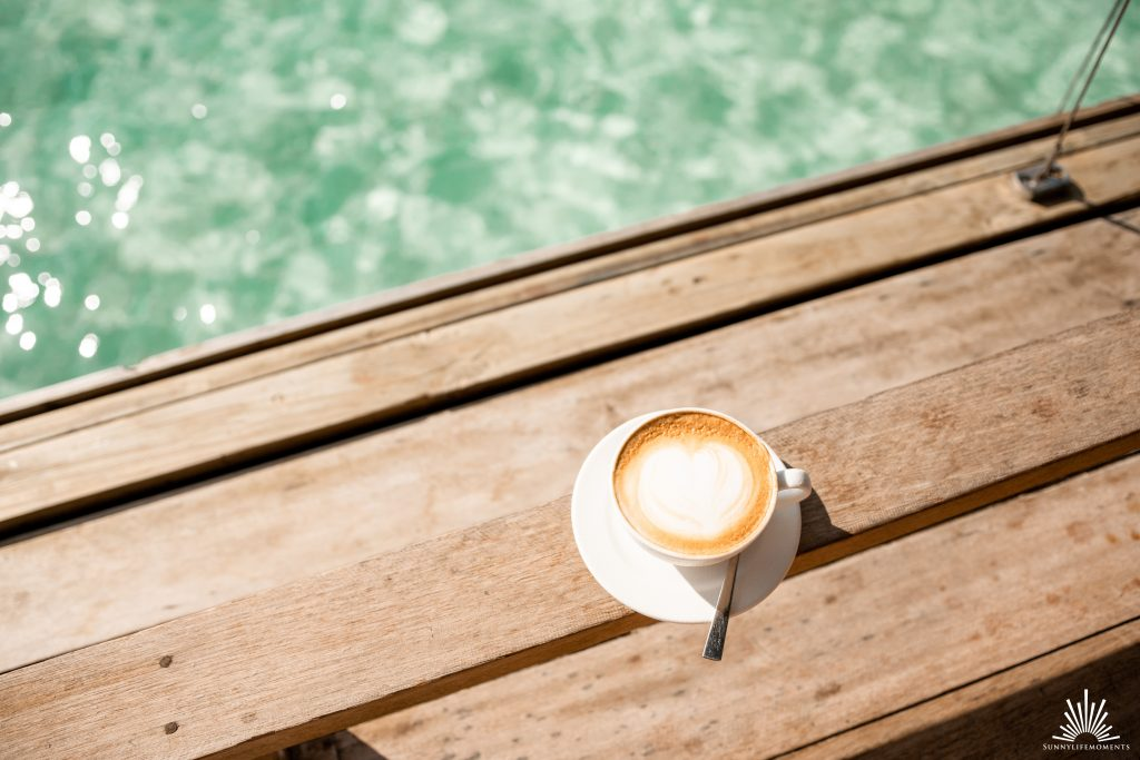Cafe LUX auf den Malediven