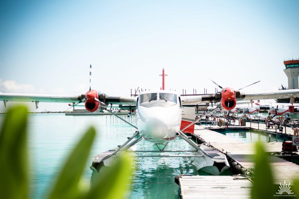 Malediven Wasserflugzeug