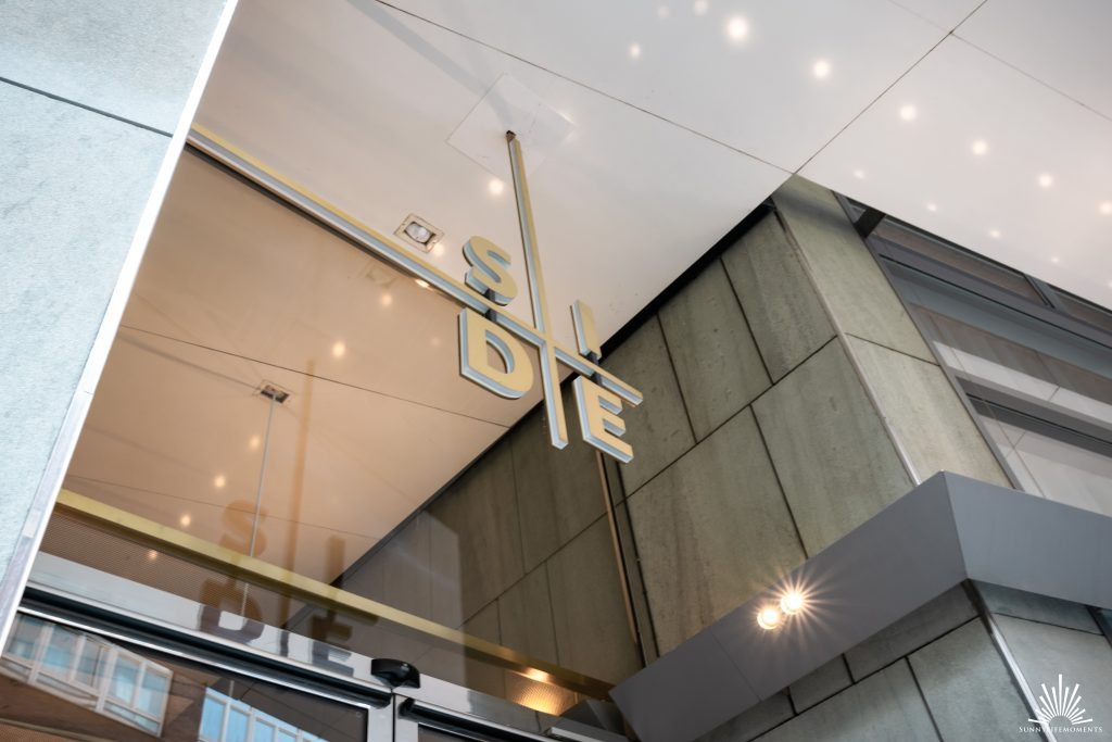 Eingang SIDE Hotel