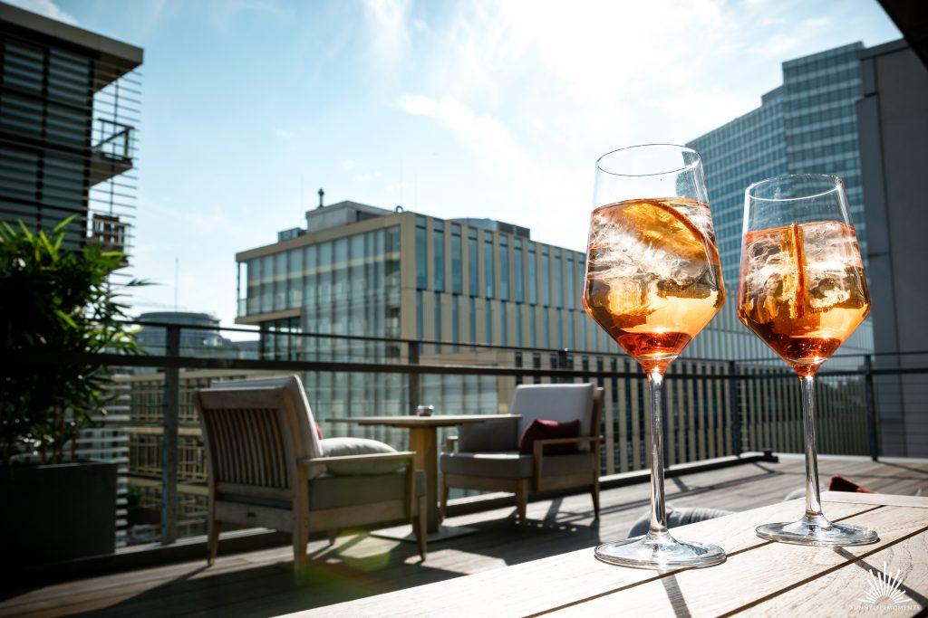 SIDE Hotel Hamburg Dachterrasse