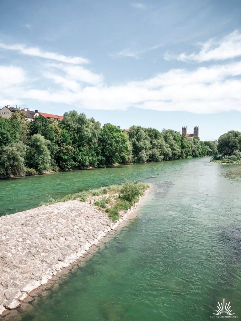Isar Ausblick München