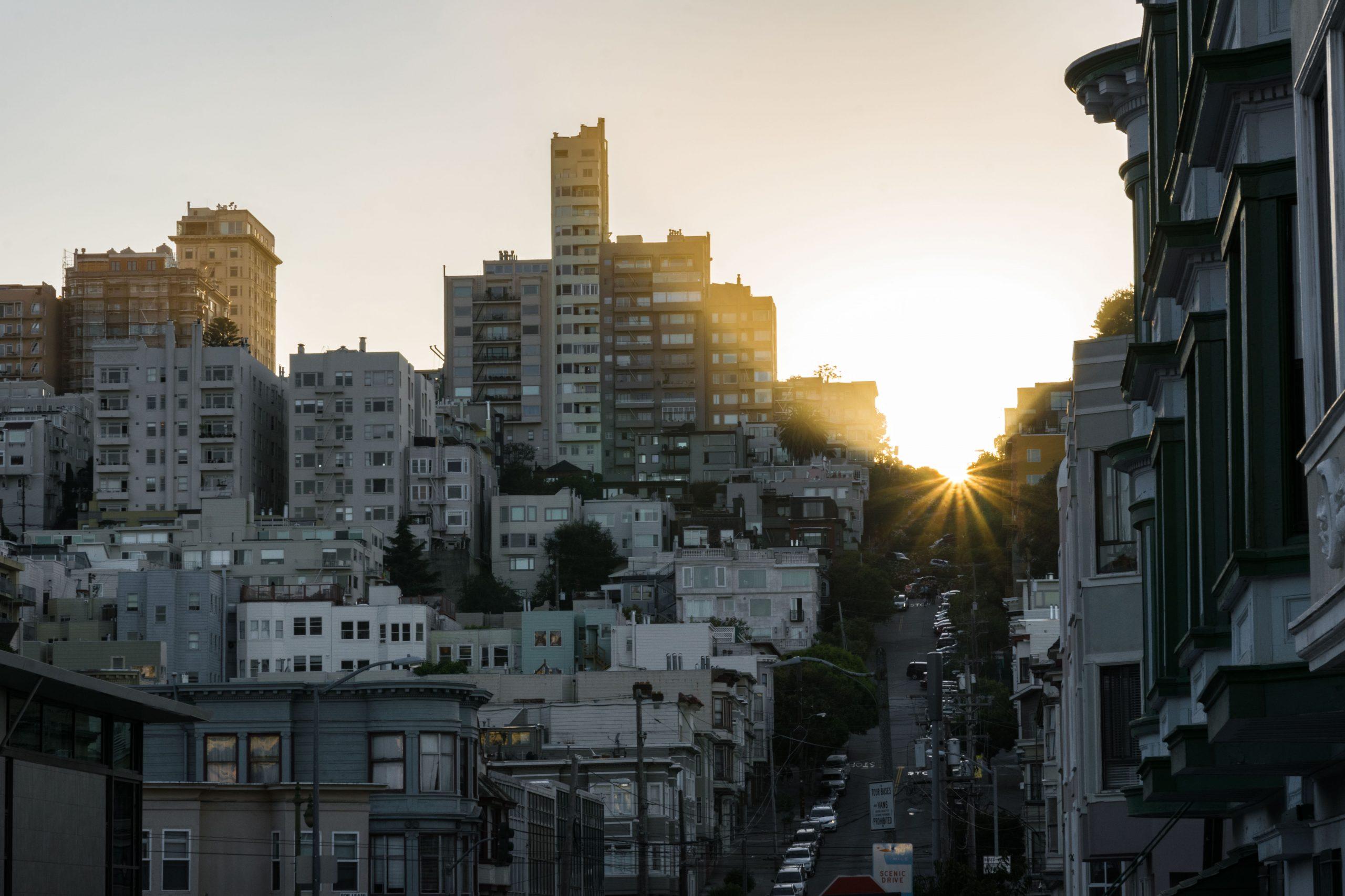 San Francisco Sonne