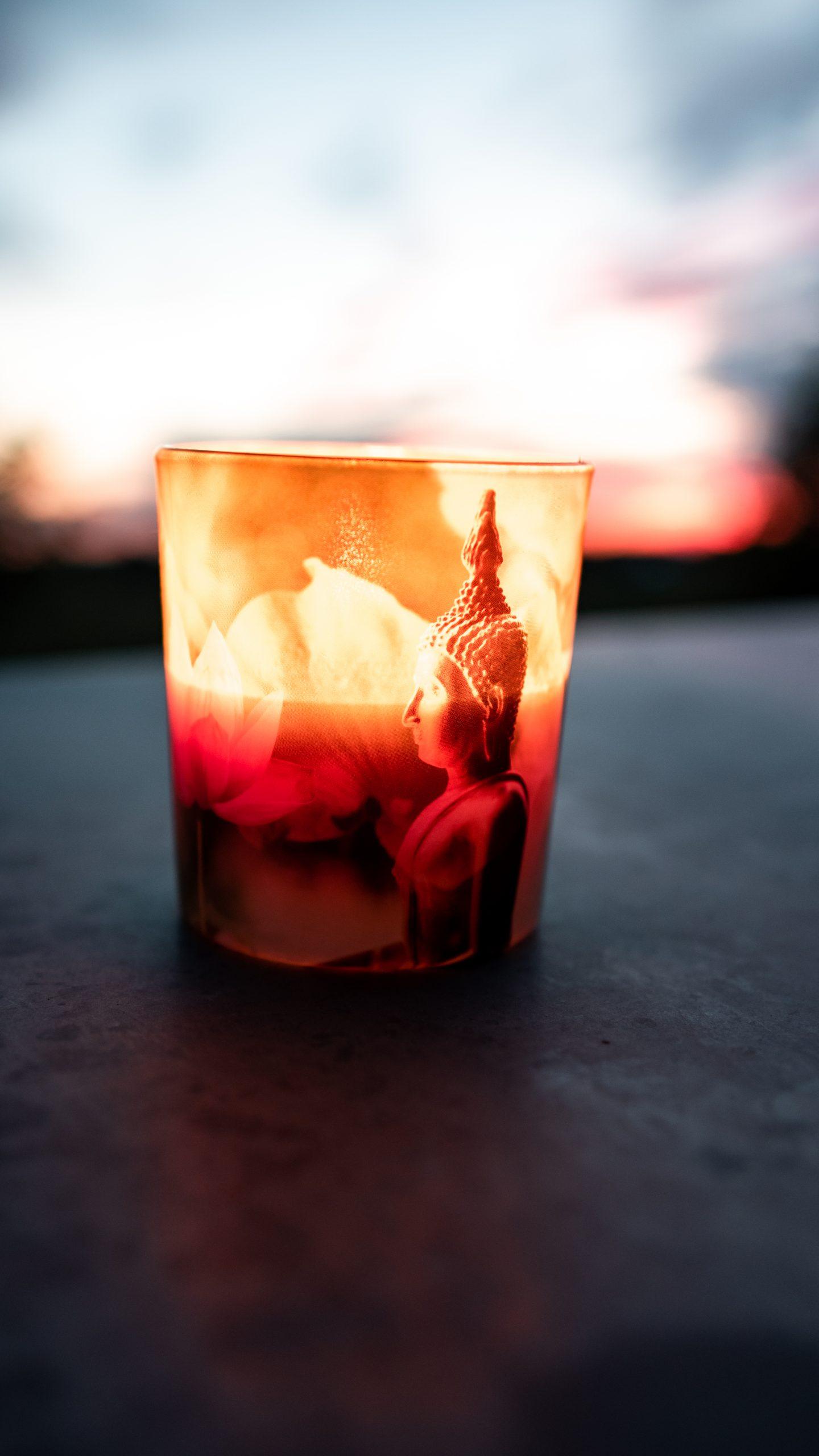 Feuer Buddha