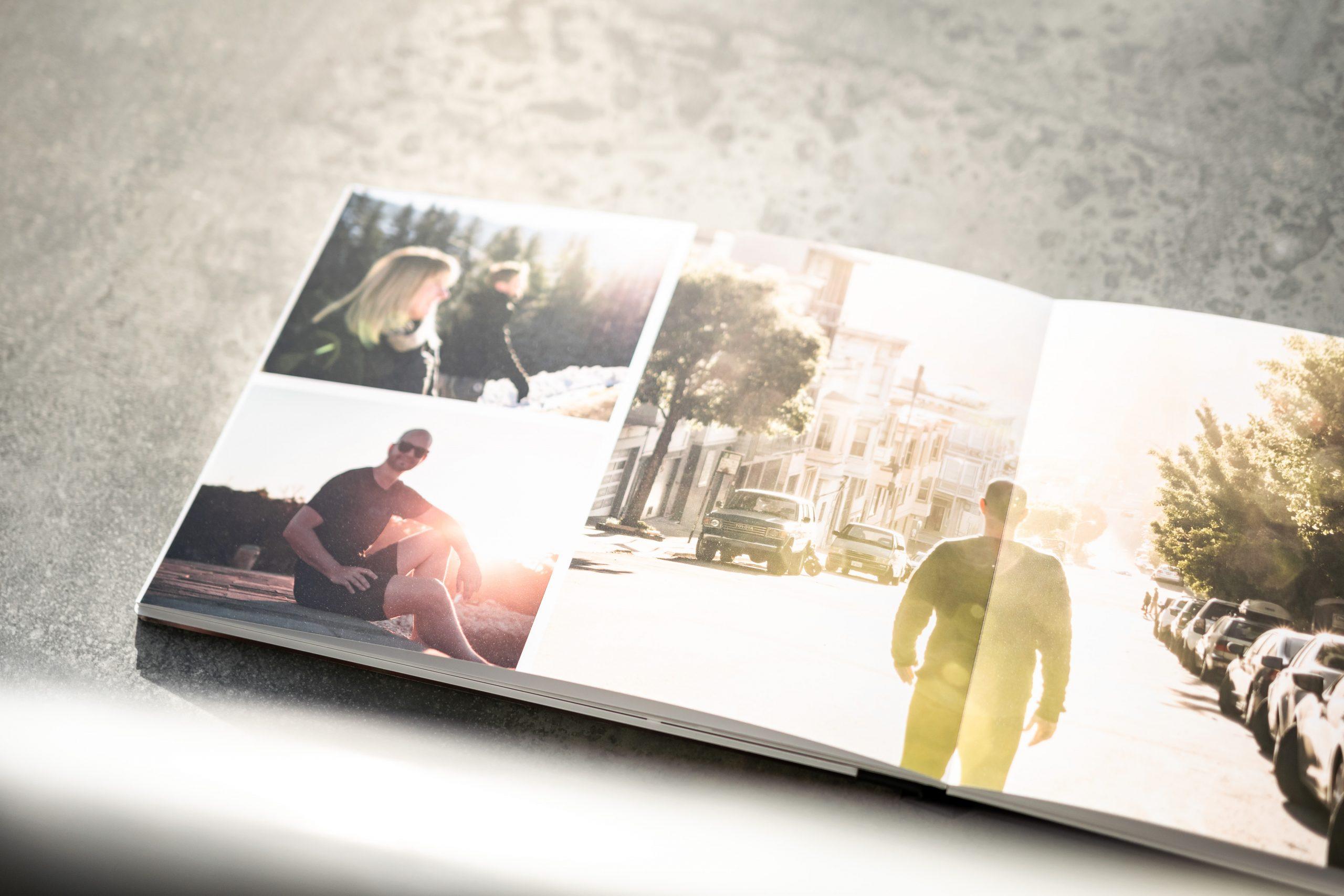 Momente im Fotobuch
