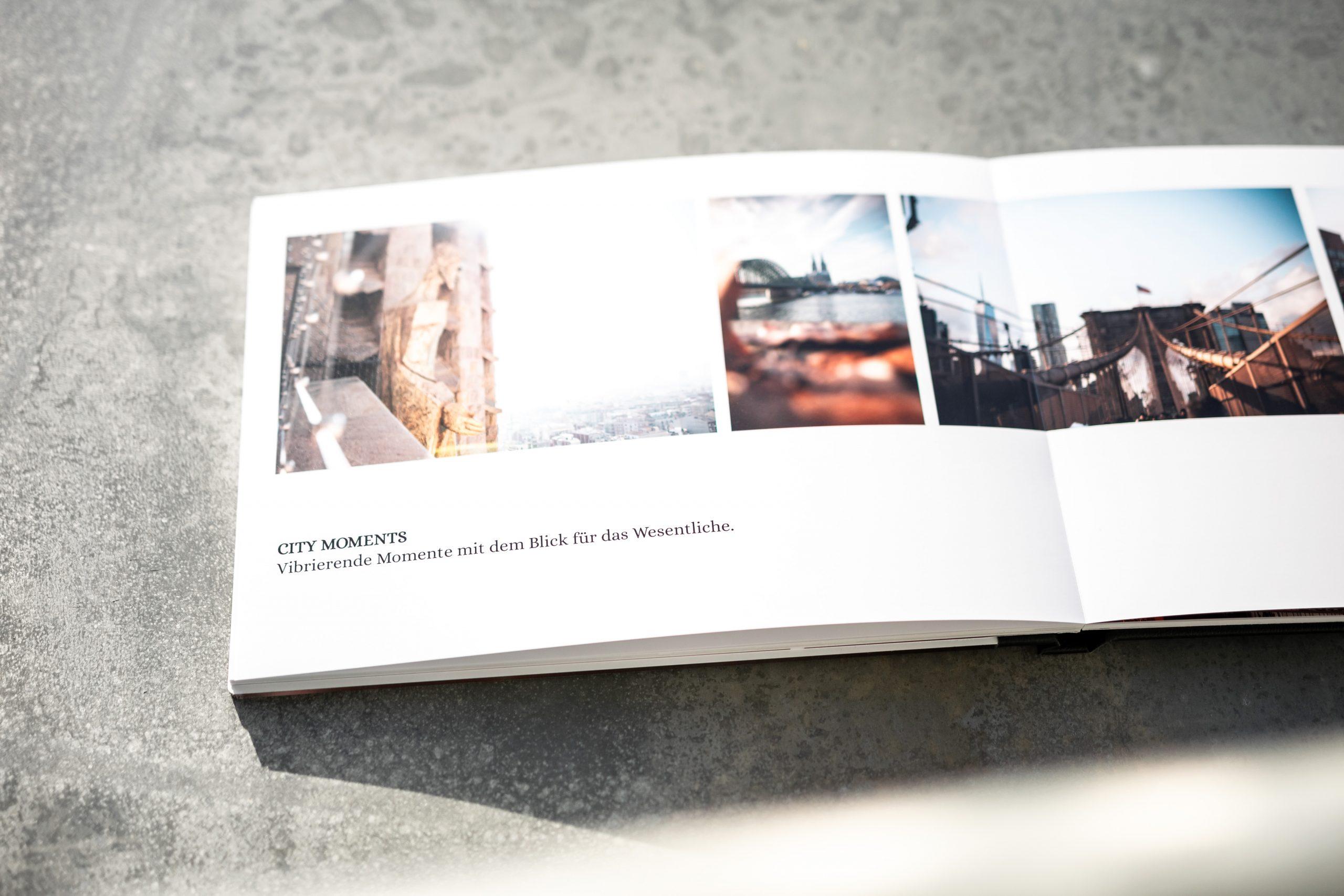 Innenseite Fotobuch