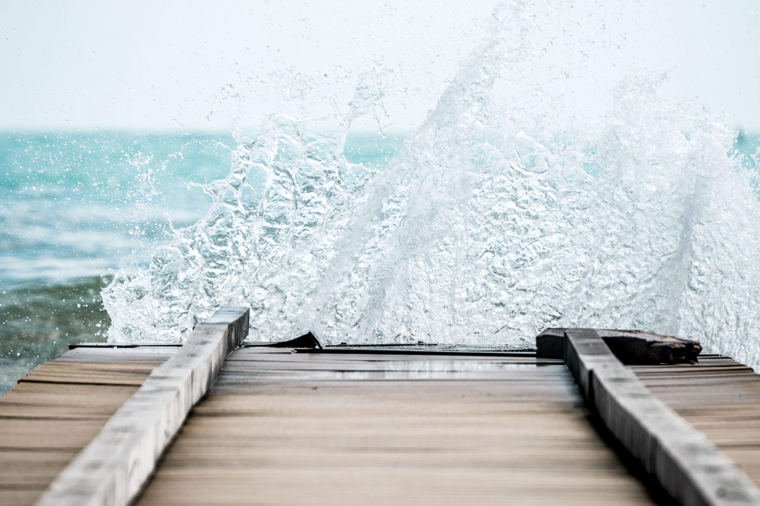 Welle am Meer
